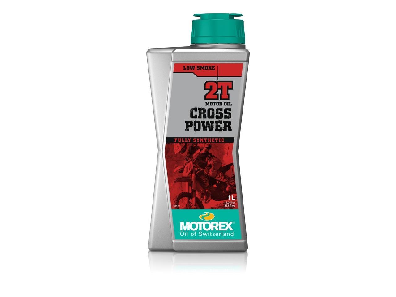 Huile moteur MOTOREX Cross Power 2T 100% synthétique