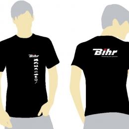 BIHR T-Shirt Powering Your Passion Noir