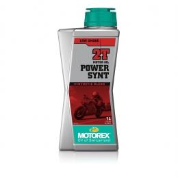 Huile moteur MOTOREX Power Synt 2T 100% synthétique