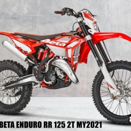 BETA ENDURO RR 125 2T MY2021