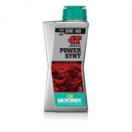 Huile moteur MOTOREX Power Synt 4T 100% synthétique