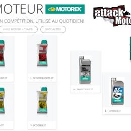 La gamme MOTOREX