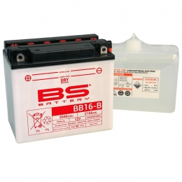 Batterie BS BB16-B DRY