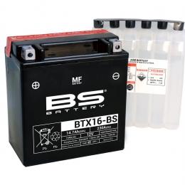 Batterie BS BATTERY BTX16-BS MF