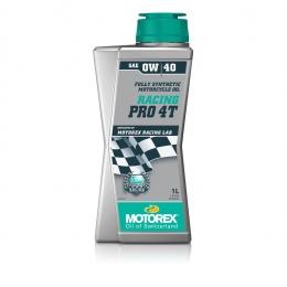 Huile moteur MOTOREX Racing Pro 4T 100% synthétique