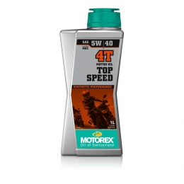 Huile moteur MOTOREX Top Speed 4T 100% synthétique